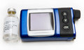 Insulin Pump and Bottle Royalty Free Stock Image