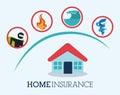 Insurance design,  illustration.