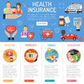 Insurance Services infographics
