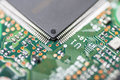 Integrated circuit modern close up Stock Image