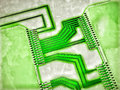 Integrated circuits Royalty Free Stock Photo