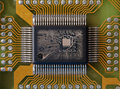 Integrated microcircuit Royalty Free Stock Photography