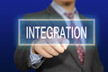 Integration Royalty Free Stock Photo