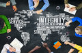 Integrity Honesty Sincerity Trust Reliability Concept Royalty Free Stock Photo