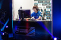 Intel extreme masters katowice poland hero playing starcraft match at iem th th march Stock Photo