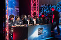 Intel extreme masters katowice poland kt rolster bullets playing the league of legends at iem th th march in Stock Photos