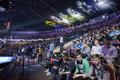 Intel extreme masters katowice poland march iem electronic sports world cup on march in katowice silesia poland Royalty Free Stock Image