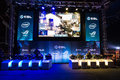 Intel extreme masters katowice poland virtus pro vs team ldlc com playing the counter strike global offensive match at iem th th Stock Photo