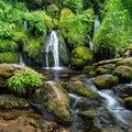 Watson Creek Cascades Royalty Free Stock Photo