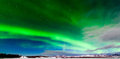 Intense display of Northern Lights Aurora borealis Royalty Free Stock Photo