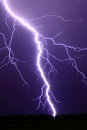 Intense lightning bolt Royalty Free Stock Photo