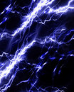 Intense lightning storm Royalty Free Stock Photography