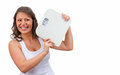 Intentional weight loss refers to loss total body mass effort to improve fitness health Stock Photography