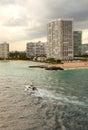 Inter-coastal Wasser-Strasse in ft. Lauderdale Stockbilder