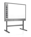 Interactive whiteboard Stock Photography