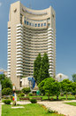 The intercontinental bucharest romania june on june in romania it is a highrise five star hotel situated near Stock Photos