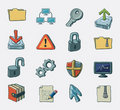 Interet icon set Royalty Free Stock Image