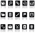 Interface icons Royalty Free Stock Photo