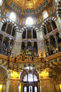 Interior of aachen cathedral germany imperial at Stock Images