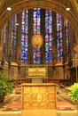 Interior of aachen cathedral germany imperial at Royalty Free Stock Photo