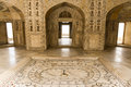 Interior of agra red fort in india Stock Photography