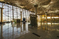 Interior of airport vnukovo moscow october october in moscow russia has the largest terminal in russia and the Royalty Free Stock Photos