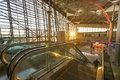 Interior of airport vnukovo moscow october october in moscow russia has the largest terminal in russia and the Stock Images
