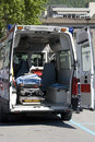 Interior ambulance Royalty Free Stock Photo