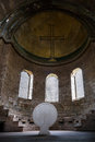 Hall of ancient Hagia Irene church in Topkapi