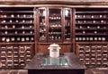 Interior the ancient pharmacy Royalty Free Stock Photo