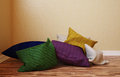 The interior angle which distribute a few colorful pillows d illustration of an Royalty Free Stock Images