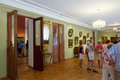 Interior of Art Museum in Yaroslavl. Russia Stock Image