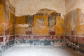 Interior artworks ancient rome pompei in at year old relics give a window on the past Royalty Free Stock Photo