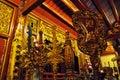 Interior of the Bach Ma temple. Hanoi, Vietnam Royalty Free Stock Photo