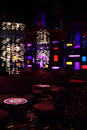 Interior of the bar-disco Stock Photography