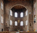 Interior of the Basilica of Constantine in Trier Stock Photo