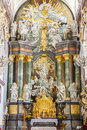 Interior basilica jasna gora sanctuary czestochowa poland Royalty Free Stock Photography