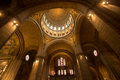 Interior of Basilica Sacre Coeur, Paris, France Royalty Free Stock Photo