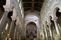 Interior of the basilica of saint martin tours france Stock Images