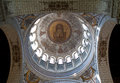 Interior of the basilica of saint martin tours france Royalty Free Stock Photos