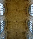 Interior from bath cathedral and architecture Stock Photography