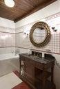 Interior of a bathroom Royalty Free Stock Photo