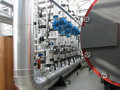 Interior of boiler-house Royalty Free Stock Photo