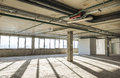 Interior of business center under construction Royalty Free Stock Photo
