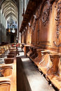 Interior of Cathedral of the Holy Cross, Orl�ans Royalty Free Stock Photo