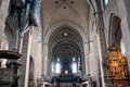 Interior of cathedral saint peter in trier germany Royalty Free Stock Photography