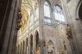 Interior of the Cathedral of Saints Vitus - Prague