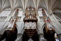 The interior of the cathedral St. Michael and St. Royalty Free Stock Photo