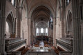 Interior of cathedral in Trier Royalty Free Stock Images