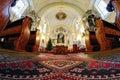 Interiér katolického církve